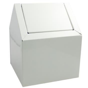58458 - Hospeco - 2201 - Swing Top Floor Receptacle Product Image