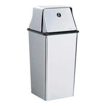 BOBB2250 - Bobrick - B-2250 - 13 Gallon Waste Receptacle with Swing Top Product Image