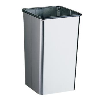 BOBB2260 - Bobrick - B-2260 - 13 Gallon Waste Receptacle with Open Top Product Image