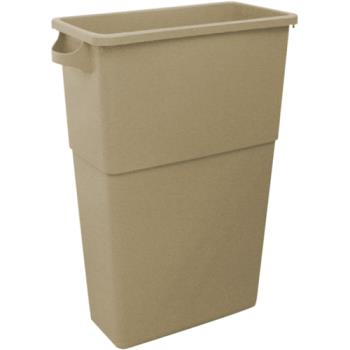 36147 - Impact - 7023-15 - Beige 23 Gallon Rectangular Trash Can Product Image