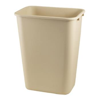 36142 - Impact - 7703-15 - Beige 10 Gallon Wastebasket Product Image