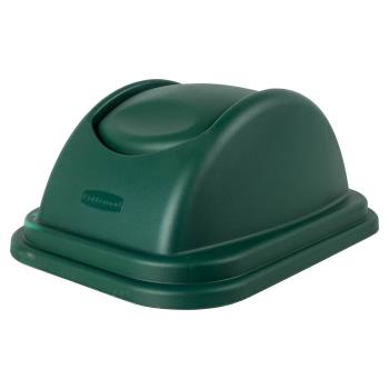 12885 - Rubbermaid - 1829408 - 10 gal Green Untouchable® Trash Can Lid Product Image