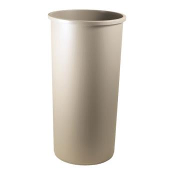 36169 - Rubbermaid - 3546 BEI - 22 gal Beige Untouchable® Trash Can Product Image