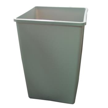 36171 - Rubbermaid - 395800 - Untouchable® 35 Gallon Gray Trash Container Product Image