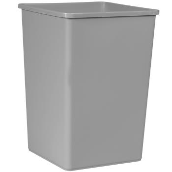 36171 - Rubbermaid - 395800 - 35 gal Gray Untouchable® Trash Can Product Image