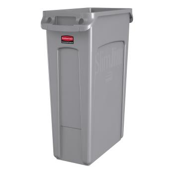 36185 - Rubbermaid - FG354060GRAY - 23 gal Slim Jim® Trash Container Product Image