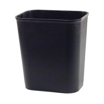 36158 - Rubbermaid - FG254100BLA - 4 gal Black Fire Resistant Trash Can Product Image