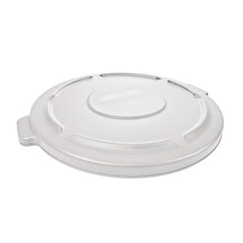 36161 - Rubbermaid - FG261960WHT - 20 gal White BRUTE® Trash Can Lid Product Image
