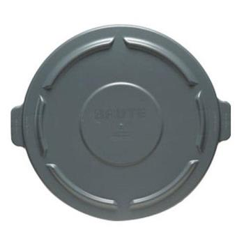 36167 - Rubbermaid - FG263100GRAY - 32 gal Gray Brute® Round Trash Can Lid Product Image