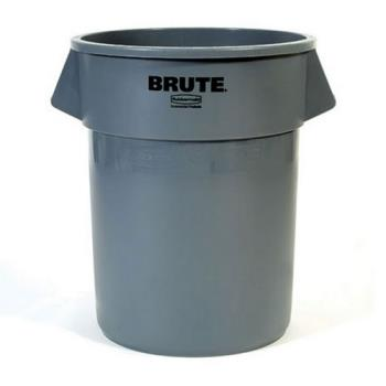 36152 - Rubbermaid - FG263200GRAY - 32 gal Gray Prosave™ BRUTE® Trash Can Product Image