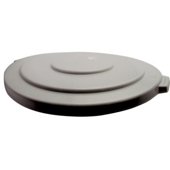 36163 - Rubbermaid - FG265400GRAY - 55 gal Round Gray Brute® Trash Can Lid Product Image