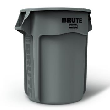 36154 - Rubbermaid - FG265500GRAY - 55 gal Round Gray Brute® Trash Can Product Image