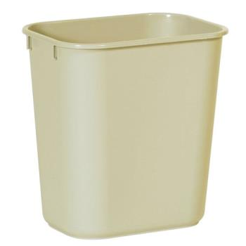 86835 - Rubbermaid - FG295500BEIG - 13 5/8 qt Beige Trash Can Product Image