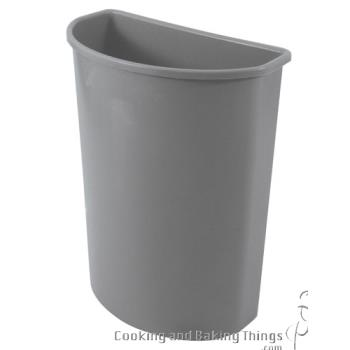 36159 - Rubbermaid - FG352000GRAY - Gray 21 Gallon Half Round Trash Can Product Image