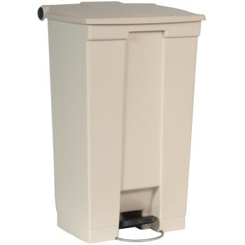 83263 - Rubbermaid - FG614600BEIG - 23 gal Step-On Trash Container Product Image