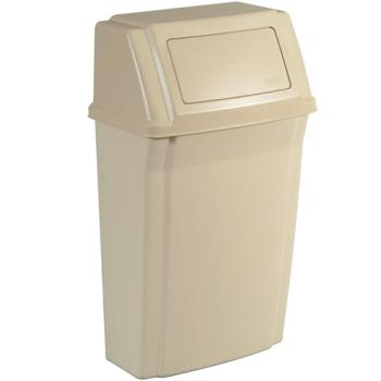 RUBFG782200BEIG - Rubbermaid - FG782200BEIG - 15 Gallon Beige Trash Container Product Image