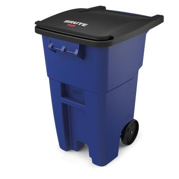 12894 - Rubbermaid - FG9W2700BLUE - 50 gal Blue BRUTE® Rollout Container Product Image