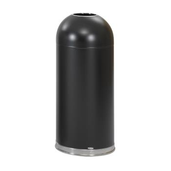 12120 - SAFCO - 9639BL - 15 gal Open Top Trash Can Product Image