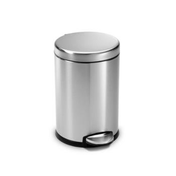 83129 - Simplehuman - CW1852 - 4 1/2 l Step-on Trash Can Product Image