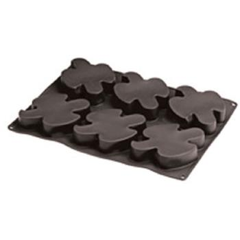 WOR4778005 - World Cuisine - 47780-05 - (6) 4 in Silicone Dove Mold Product Image