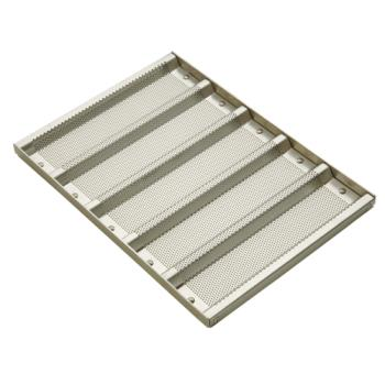 FCP902505 - Focus Foodservice - 902505 - 5 Pocket Sandwich Roll Pan Product Image