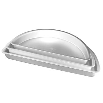 FATPHR162 - Fat Daddio's - PHR-162 - 16 in x 2 in Half Round Baking Pan Product Image