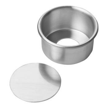 FCP90ACC32 - Focus Foodservice - 90ACC32 - 3 in x 2 in Aluminum Cheesecake Pan Product Image