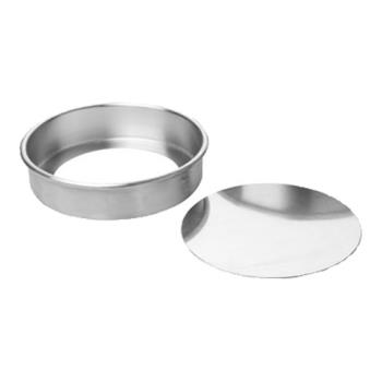 FCP90ACC93 - Focus Foodservice - 90ACC93 - 9 in x 3 in Aluminum Cheesecake Pan Product Image