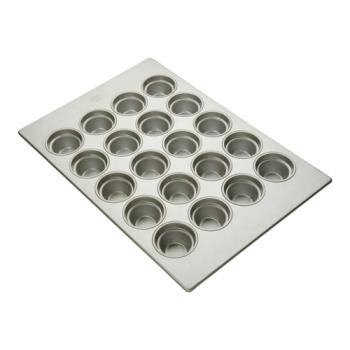 FCP904555 - Focus Foodservice - 904555 - (20) 4 1/8 in Large Crown Muffin Pan Product Image