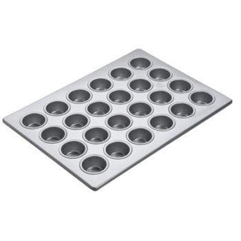 85873 - Focus Foodservice - 905245 - (24) 2 1/16 in Mini Muffin Pan Product Image