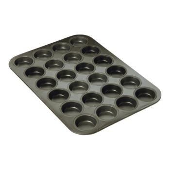 FCP969024 - Focus Foodservice - 969024 - (24) 2 1/16 in Non-Stick Mini Muffin Pan Product Image