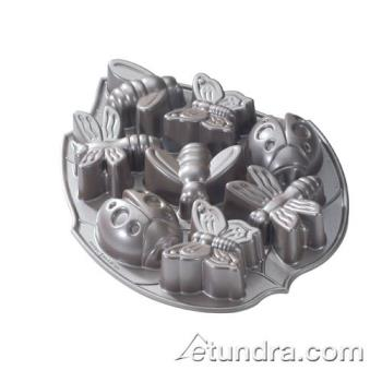 NRW53037 - Nordic Ware - 53037 - 5 cup Backyard Bugs Cakelet Pan Product Image