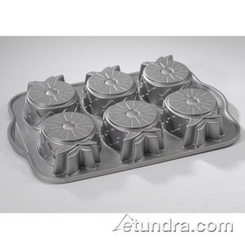 NRW58448 - Nordic Ware - 58448 - (6) Upside Down Pineapple Cake Pan Product Image