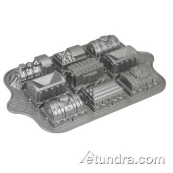 NRW59048 - Nordic Ware - 59048 - (9) Train Cakelet Pan Product Image