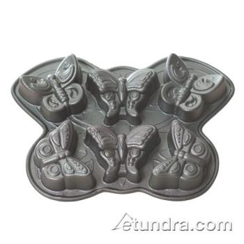 NRW81302 - Nordic Ware - 81302 - Comercial Grade (6) Butterfly Cakelet Pan Product Image