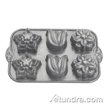 NRW82924 - Nordic Ware - 82924 - (6) Flower Cakelet Pan Product Image