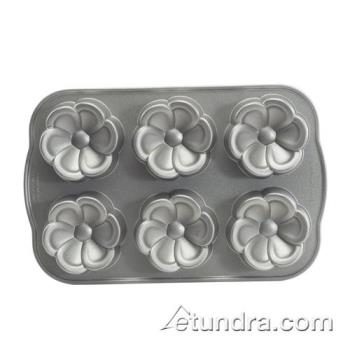 NRW83637 - Nordic Ware - 83637 - (6) Flower Cakelet Pan Product Image