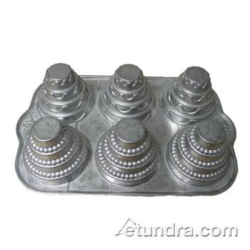 NRW83737 - Nordic Ware - 83737 - (6) Tiered Mini Cakelet Pan Product Image