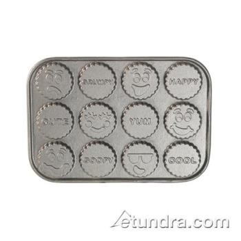 NRW84924 - Nordic Ware - 84924 - (12) Funny Faces Cakelet Pan Product Image