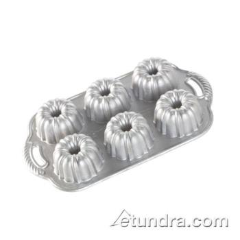 NRW86202 - Nordic Ware - 86202 - Commercial Grade (6) Mini Bundt Pan Product Image
