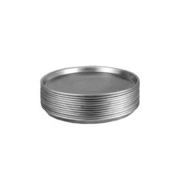AMMT2014 - American Metalcraft - T2014 - 14 in x 1/2 in Deep Tin Pizza Pan Product Image