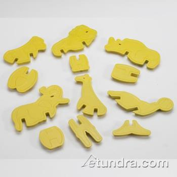 NRW01220 - Nordic Ware - 01220 - Zoo Animal Cookie Cutters Product Image