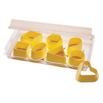 WOR4761606 - World Cuisine - 47616-06 - Pastry Cutter Set Product Image