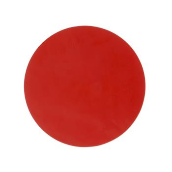 61260 - Commercial - 9 In Red Non-Stick Circle mat Product Image
