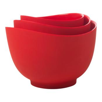 ISIB25101 - ISI - B251 01 - Red Mixing Bowl Set Product Image