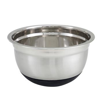 WINMXRU500 - Winco - MXRU-500 - 5 qt Mixing Bowl With Silicone Base Product Image