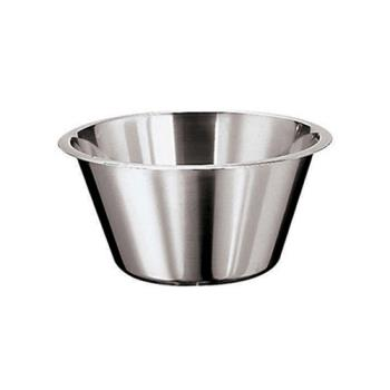 WOR1258024 - World Cuisine - 12580-24 - 3 1/4 qt Stainless Steel Mixing Bowl Product Image