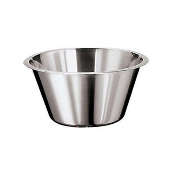WOR1258029 - World Cuisine - 12580-29 - 5 1/4 qt Stainless Steel Mixing Bowl Product Image