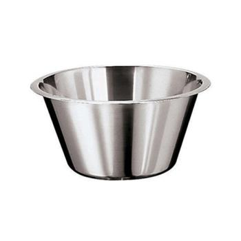 WOR1258030 - World Cuisine - 12580-30 - 6 3/8 qt Stainless Steel Mixing Bowl Product Image