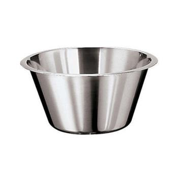 WOR1258031 - World Cuisine - 12580-31 - 8 1/2 qt Stainless Steel Mixing Bowl Product Image